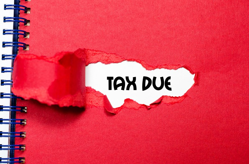 A reminder of ways you can pay tax due