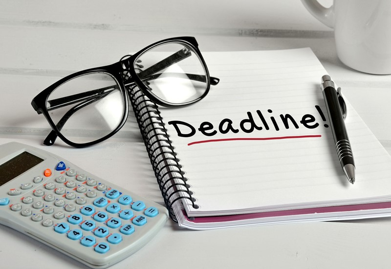 Filing deadlines for company confirmation statement